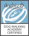 Dogbiz certified Dog Walker